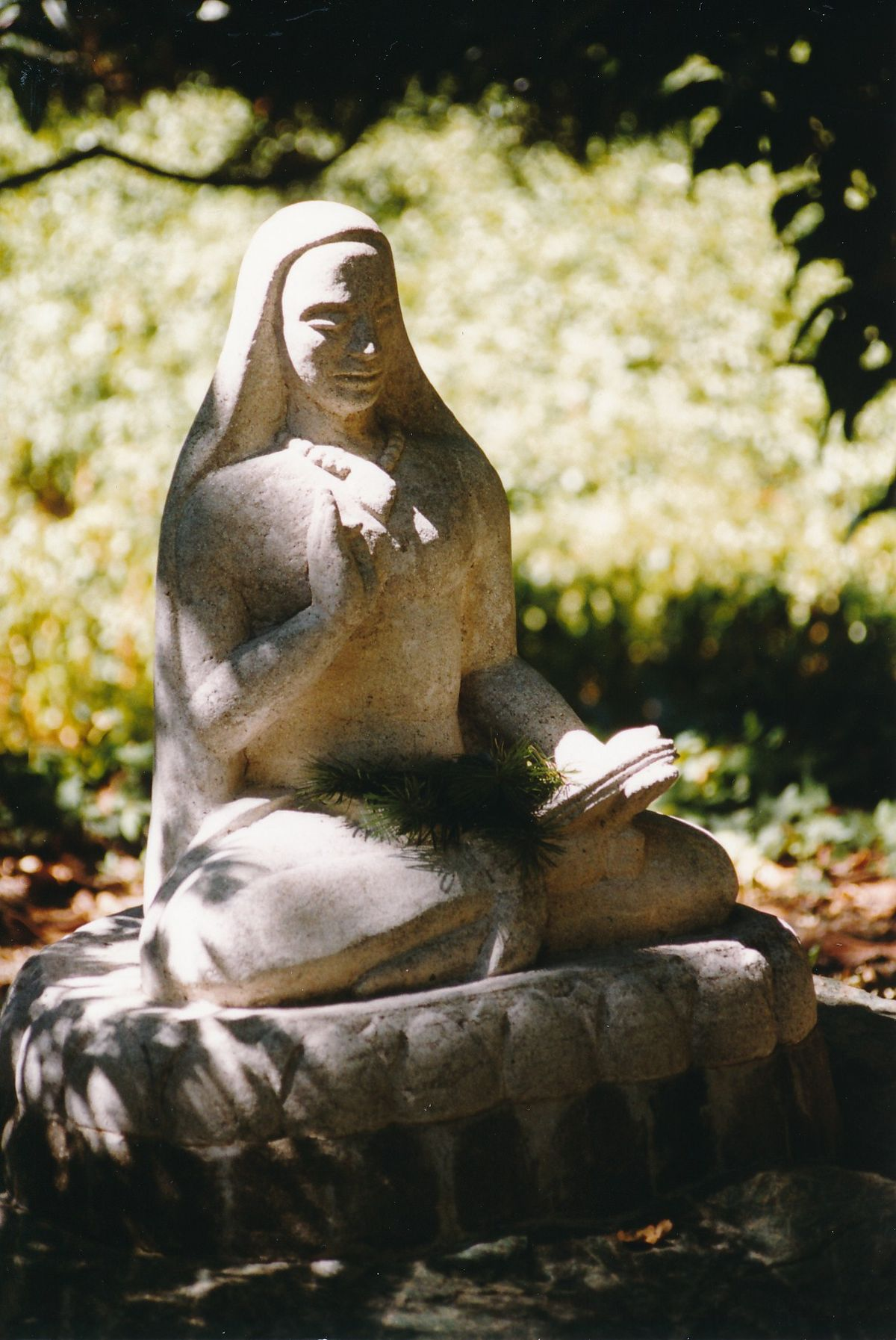 10 - Vedanta Society of Sacramento - Garden of Saints - Statue of Lord Shankara 1