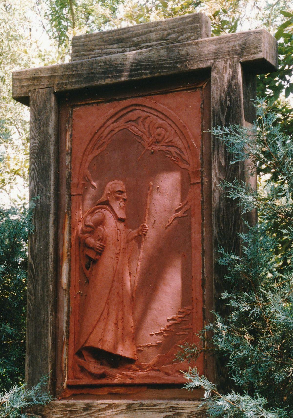 11 - Vedanta Society of Sacramento - Garden of Saints - Moses 1
