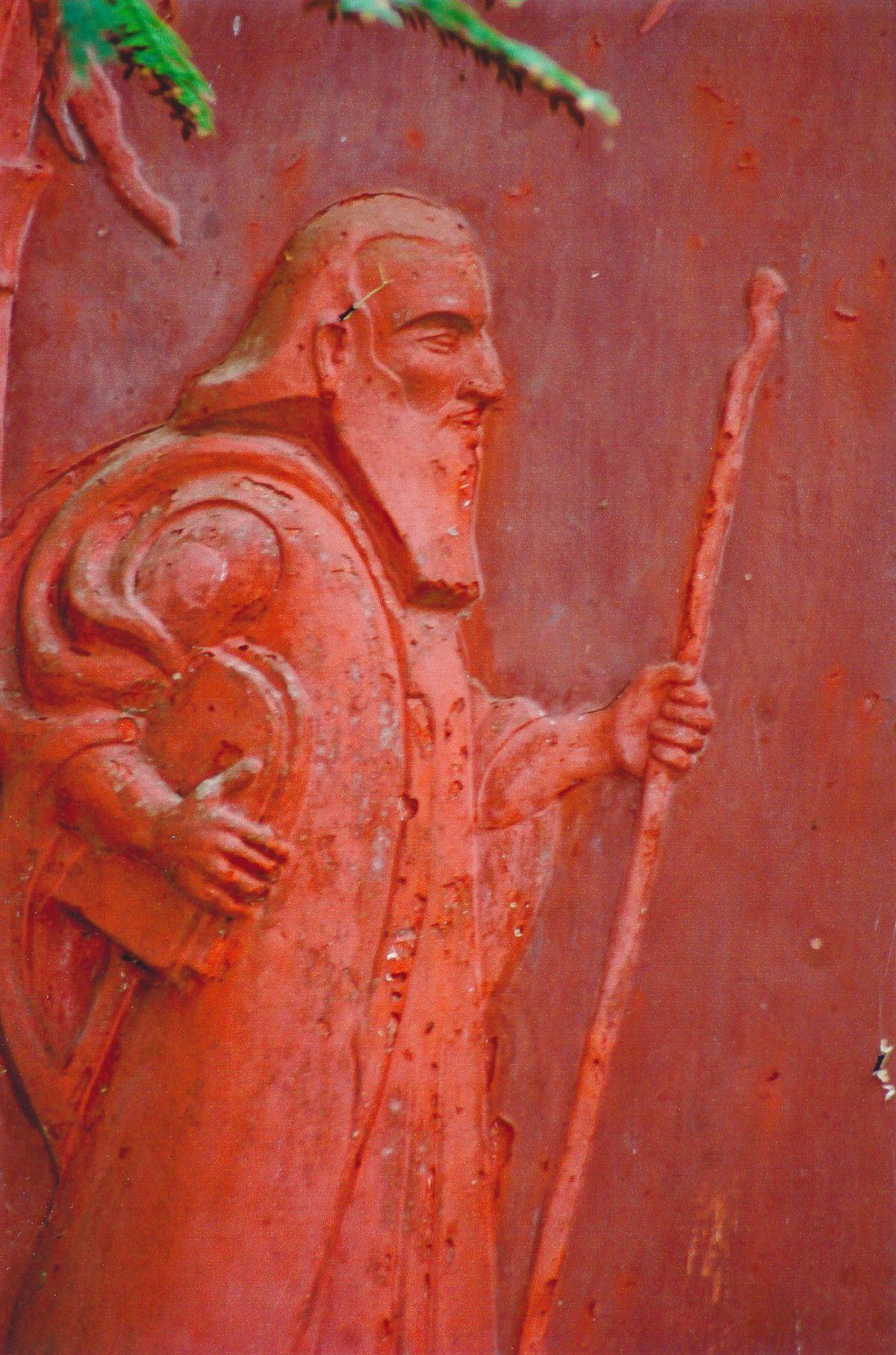 11 - Vedanta Society of Sacramento - Garden of Saints - Moses 2