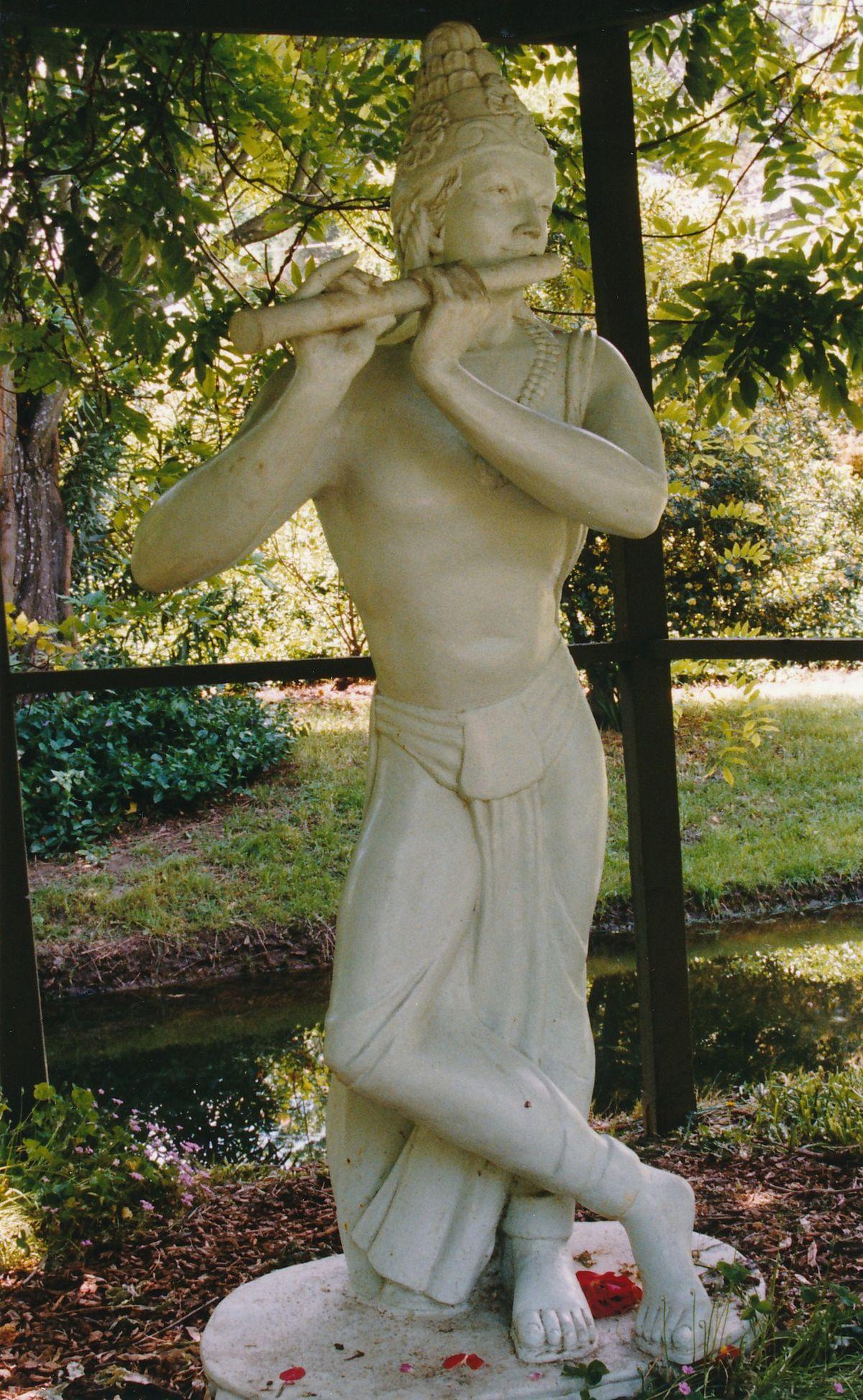 6 - Vedanta Society of Sacramento - Garden of Saints - Sri Krishna 3