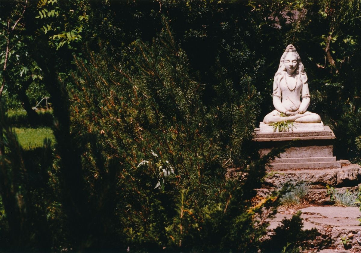 9 - Vedanta Society of Sacramento - Garden of Saints - Statue of Lord Shiva 3