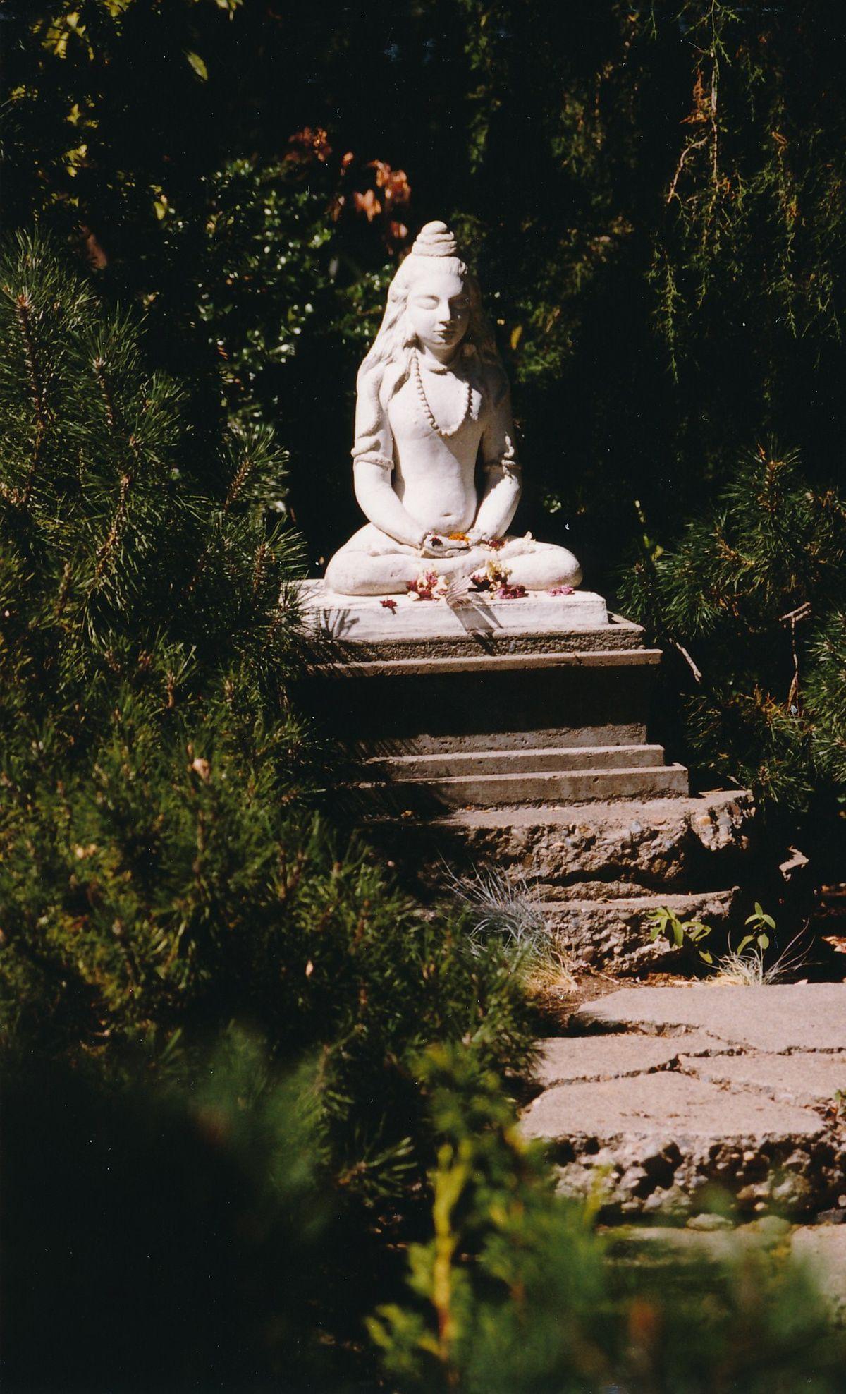 9 - Vedanta Society of Sacramento - Garden of Saints - Statue of Lord Shiva 5