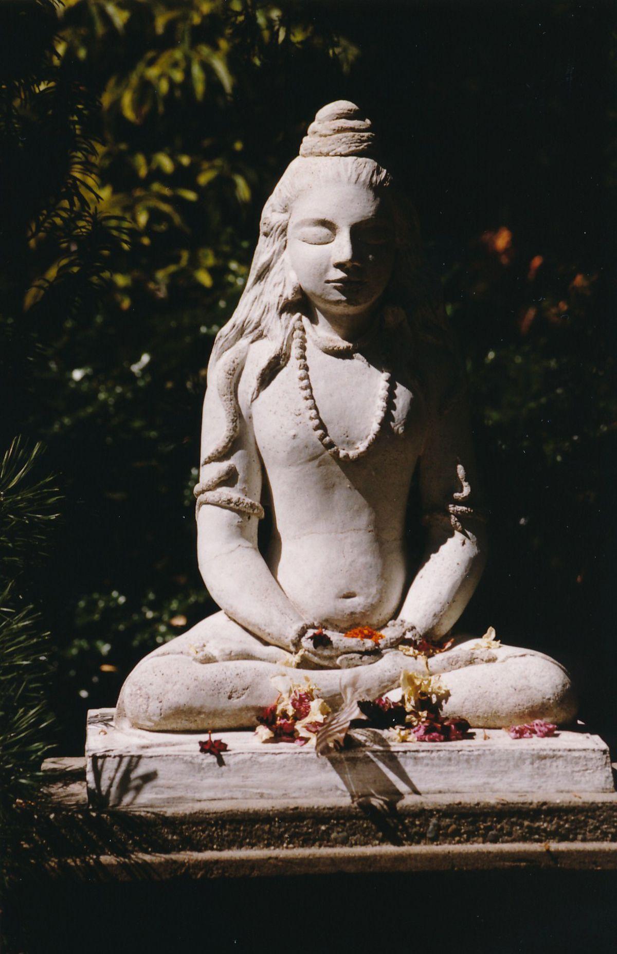 9 - Vedanta Society of Sacramento - Garden of Saints - Statue of Lord Shiva 6