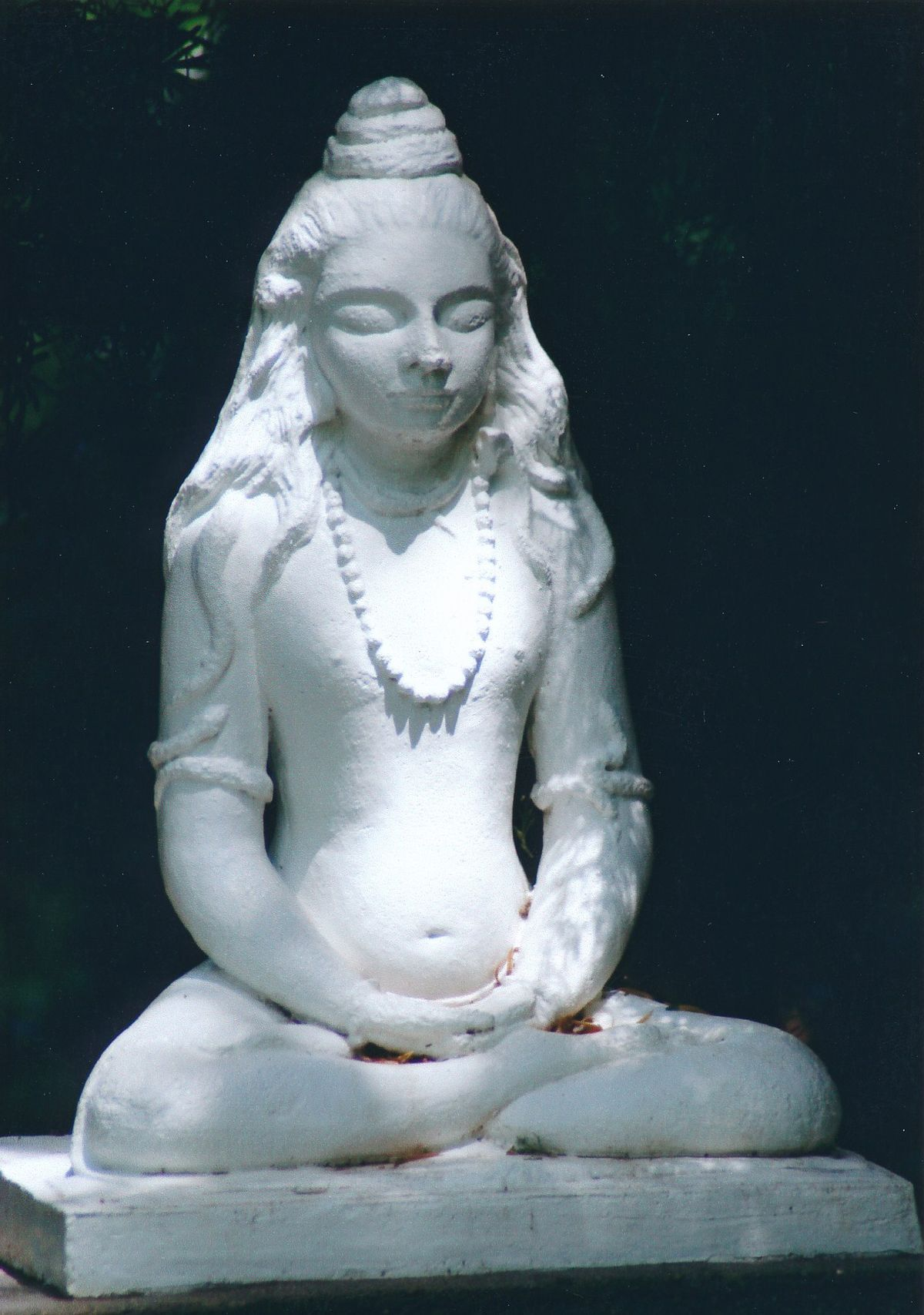 9 - Vedanta Society of Sacramento - Garden of Saints - Statue of Lord Shiva 7