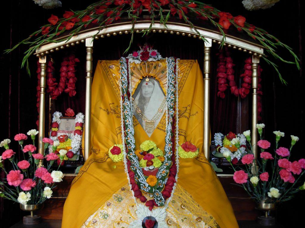13 Holy Mother Sarada Devi at Belur Math - Photo 2