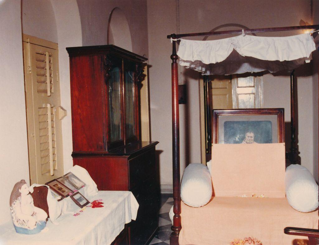 21 Swami Shivananda's Room at Belur Math