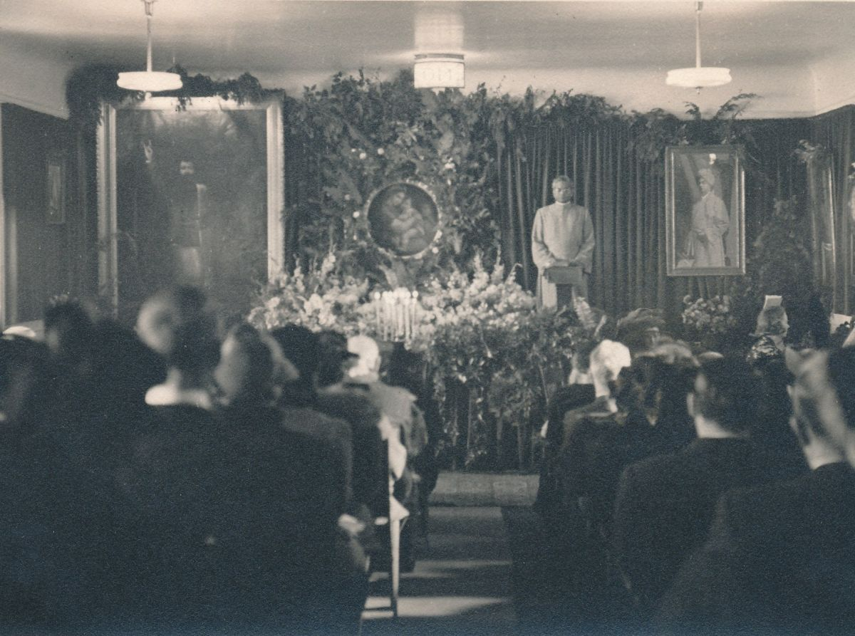 San Francisco Old Temple Christmas 1939