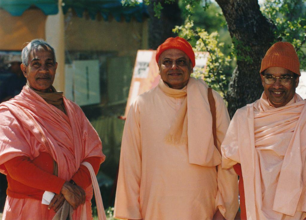 Sw. Aparananda, Sw. Prapannananda, Sw. Shantarupananda