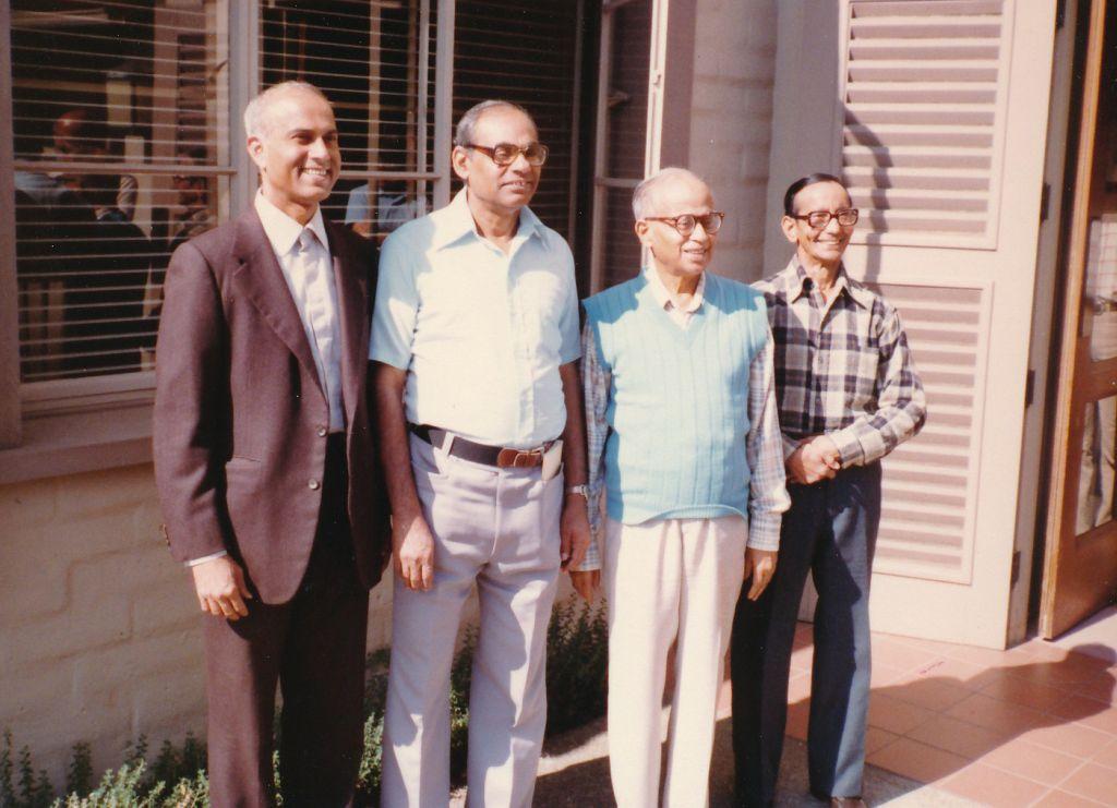 Sw. Chetanananda, Sw. Tathagatananda, Sw. Shraddhananda, Sw. Pramathananda
