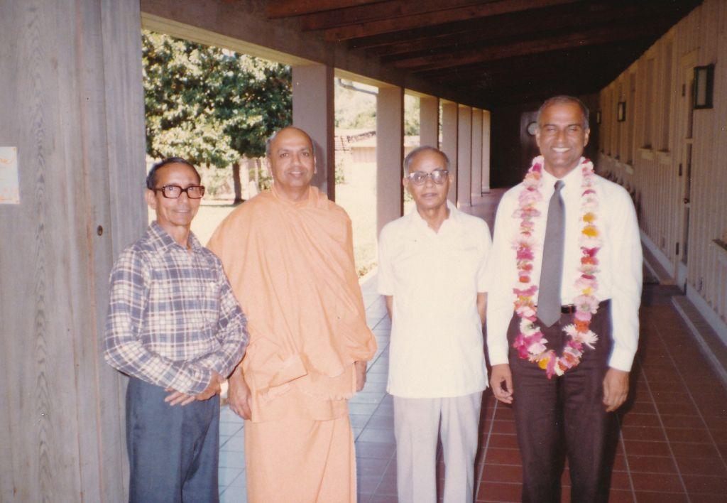 Sw. Pramathananda, Sw. Prabuddhananda, Sw. Shraddhananda, Sw. Chetanananda