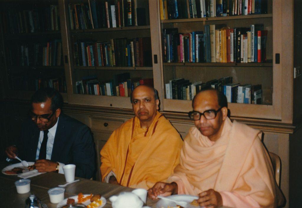 Sw. Pramathananda and Sw. Bhaskarananda