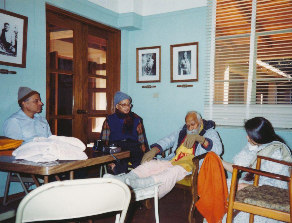 Sw. Prapannananda,  Sw. Shraddhananda, Sw. Nihshreyasananda
