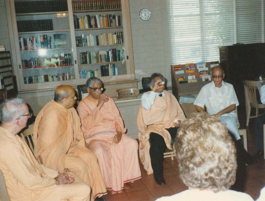 Sw. Sarvagatananda and Sw. Sahajananda