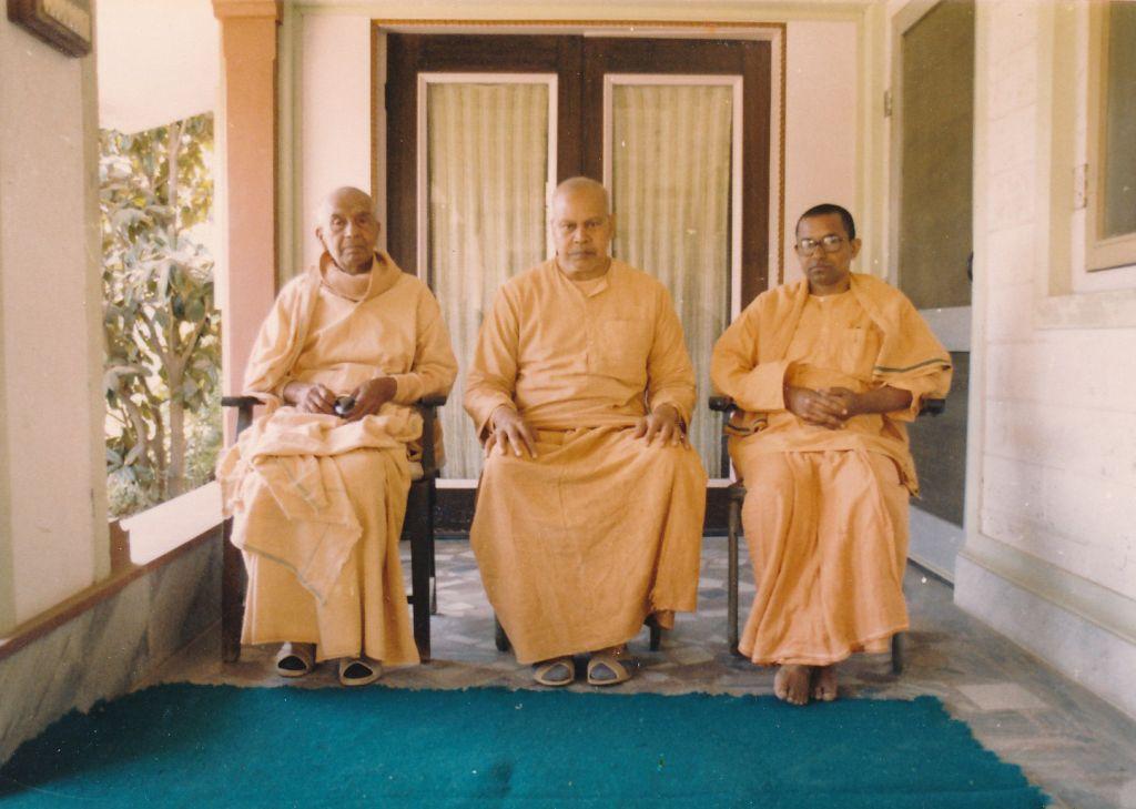 Swami Shantaswarupananda, Swami ..., Swami Dhryveshananda(in Lucknow)