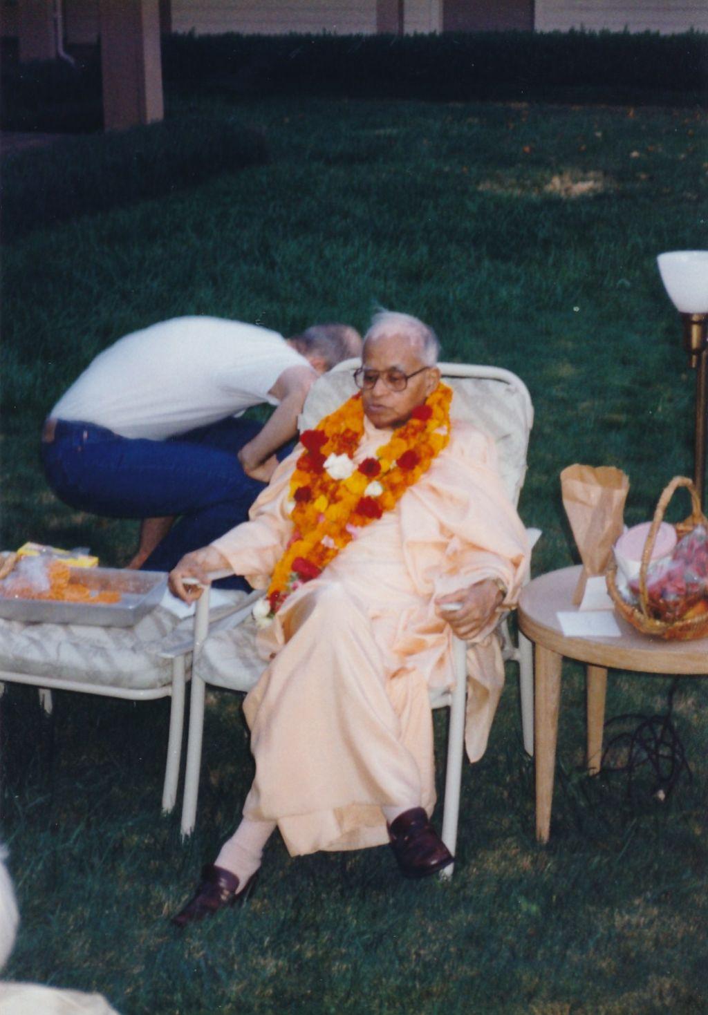 Swami Shraddhananda on a Birthday